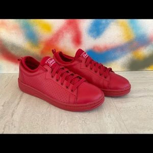 Skechers Red Leather Women's Sneakers Size 8M